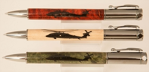Black Hawk Helicopter Pen