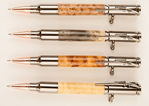 Bolt Action Wood Pens