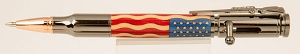 Stars & Stripes Bolt Action Bullet Pen