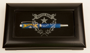 Nevada State Pen - Battle Born wood inlay