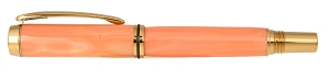 Asian Pink Coral Stone Pen