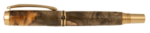 Buckeye Burl Pen inlaid with Copper