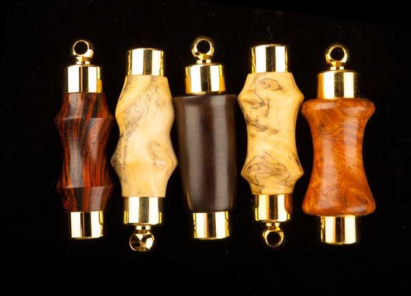 Oil Vial - wood